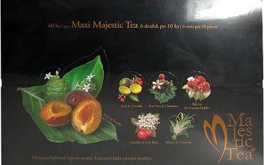 BIOGENA Čaj MAXI Majestic Tea n.s. 60ks