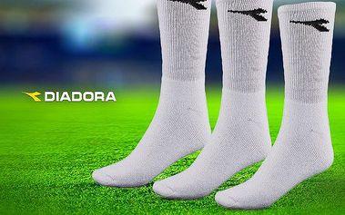 Teplé značkové ponožky Diadora: výhodné balení !!!