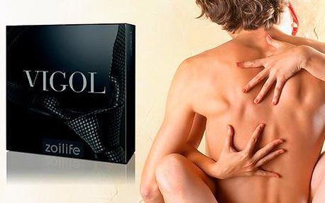 Vigol – přírodní produkt na podporu sexuálních funkcí včetně poštovného ZDARMA