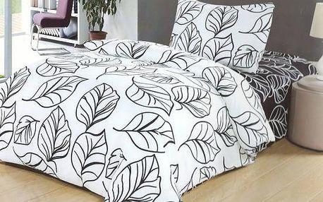 NOVIA Povlečení Comfort+, oboustranné, bavlna, 2 dílné, 140x200 70x90