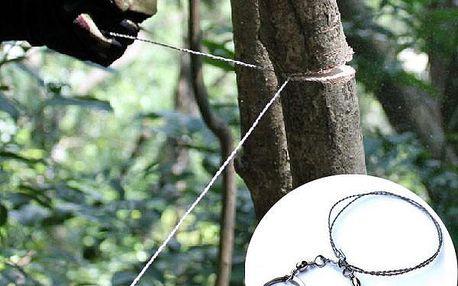 Ruční drátová pila pro outdoorové aktivity