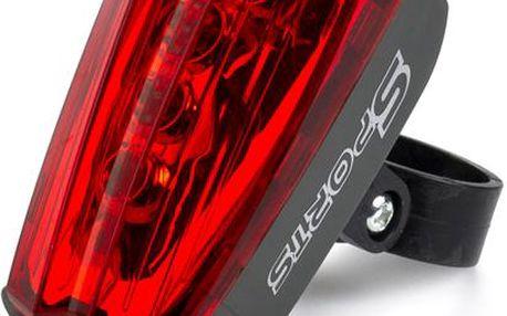 LED světlo s laserem - Na kolo nebo motorku.