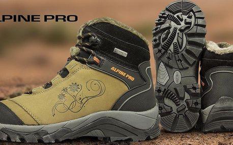 Dámské zateplené kotníkové boty Alpine Pro
