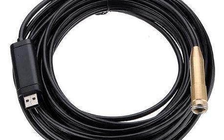 USB voděodolný endoskop (kamera) - délka kabelu 10 m - dodání do 2 dnů