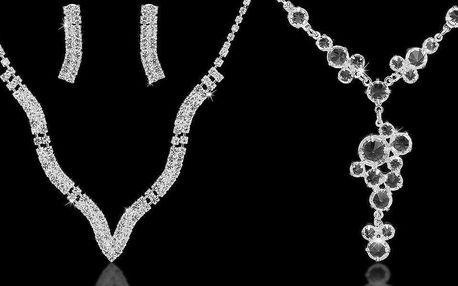 Nádherné štrasové šperky pro dámy