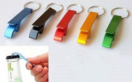 Hliníkový otvírák na klíče - různé barvy
