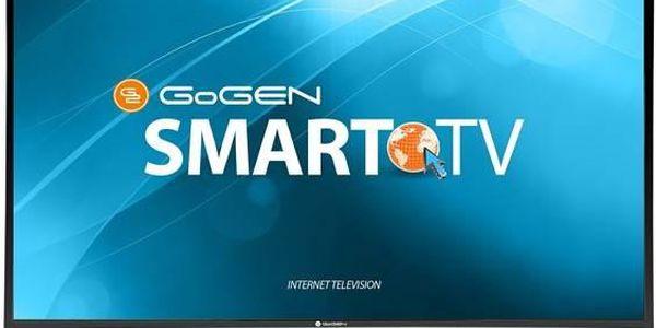 GoGEN TVF 32E425 WEB černá + Doprava zdarma