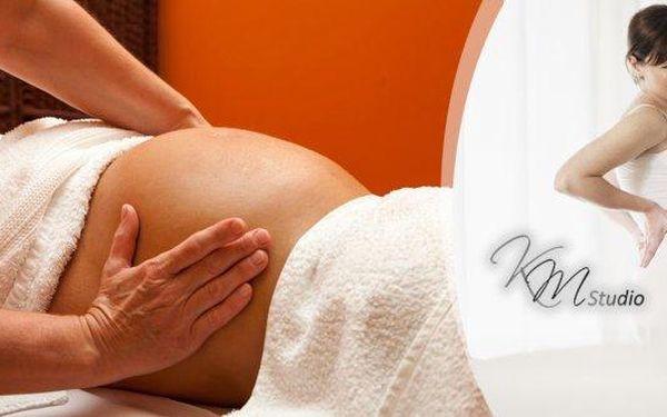 Těhotenská masáž na 60 nebo 90 min. v salonu přímo u Václavského náměstí! Jemná relaxační masáž pro uvolnění napětí v těhotenství, zmírňuje nepříjemné pocity v těhotenství! Masáž snižuje únavu a zvyšuje energii, zmírňuje bolesti nohou a zad, zabraňuje vzn