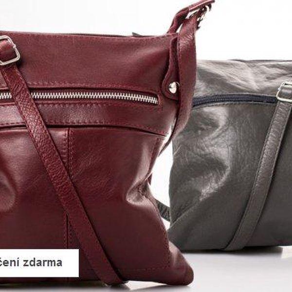 Dámské kabelky z pravé kůže