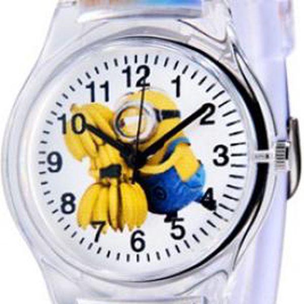 Plastové hodinky s oblíbenou dětskou postavičkou