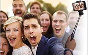 Vy ještě nemáte svou selfie tyč?! Právě vám nabízíme jednu od značky CamLink jne za 649 Kč.