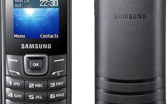 Samsung Keystone 2 (E1200) New (GT-E1200ZKRETL) černý