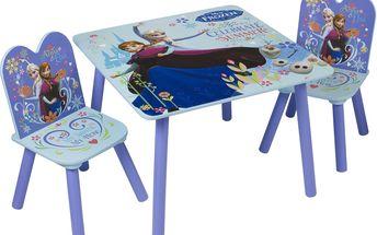 JNH Dětský stůl s židlemi Frozen