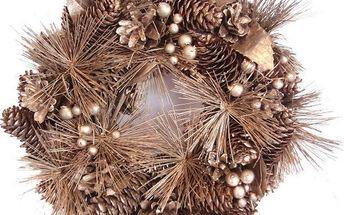 Dekorativní vánoční věnec borovice