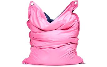 Omni Bag Duo s popruhy Pink-Jeans 181x141