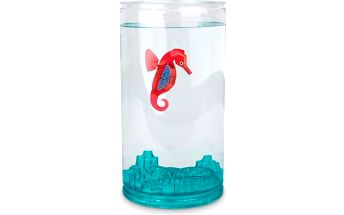 Hexbug Aquabot Mořský koník s akváriem, Růžová