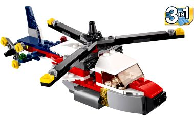 LEGO Creator 31020 Dobrodružství se dvěma vrtulemi