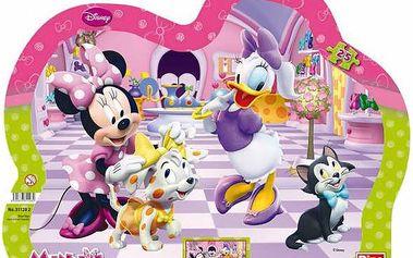 Dino Puzzle Minnie a mazlíčci, Barevná