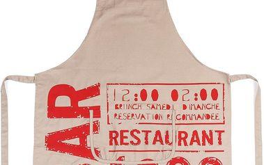 BO-MA Trading Zástěra BAR, 75 x 85 cm