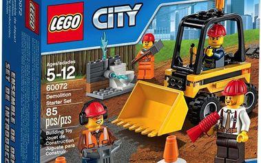 LEGO City 60072 Demolition Demoliční práce – startovací sada