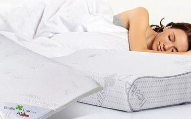 Polštář či podložka z paměťové pěny nebo prošívaná deka