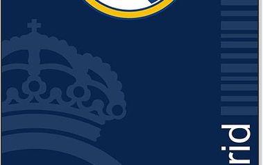 Tip Trade Osuška Real Madrid modrá, 75 x 150 cm