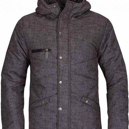 Pánská zimní bunda Woox Street Padding Men´s Grey