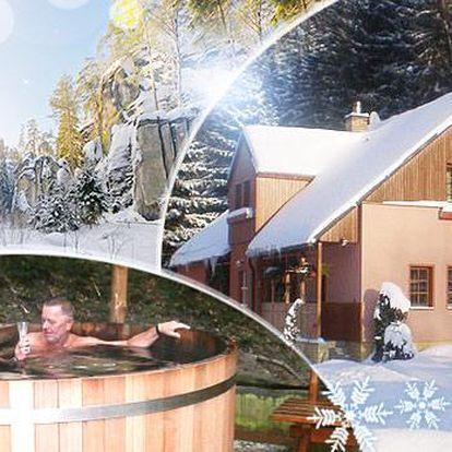 Teplicko - Adršpšské skály! 3-6 dní pro dva s polopenzí, wellness, skipasy a koupelí pod širým nebem se svařákem!