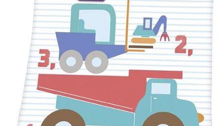 Herding Dětská deka Fynn Cars, 75 x 100 cm