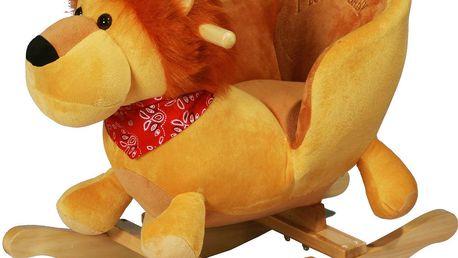 BabyGO Houpací křeslo - lvíček
