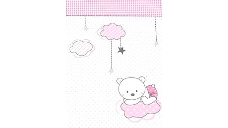 Herding Dětská deka Fynn Teddy bear, 75 x 100 cm