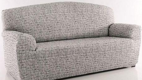 Forbyt Luxusní potah Andrea na pohovku bílo-černá, 140 - 180 cm