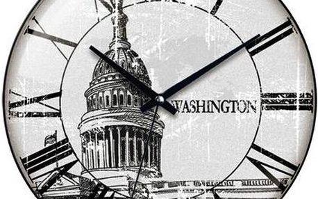 Nástěnné hodiny Washington 31 cm