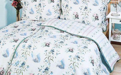 Jamal Fabrics Bavlněné povlečení Sofia, 240 x 220 cm, 2 ks 70 x 90 cm