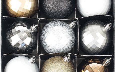 Vánoční koule Disco, mix barev