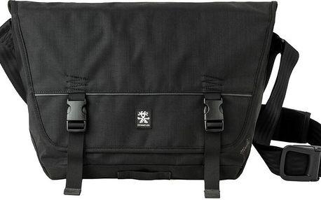 Taška přes rameno Muli Messenger L, černá