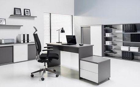 Luxusní nábytek do pracovny ZONDA Sestava 14