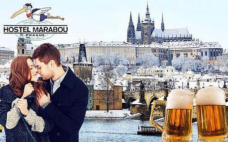 Levné ubytování v Praze kousek od centra se snídaní a ochutnávkou piva v Hostelu Marabou. Platnost přes Vánoce a až do 31. 5. 2016