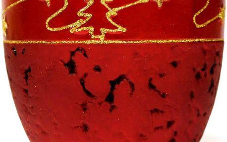 Vánoční obal, 15 x 15 x 12 cm