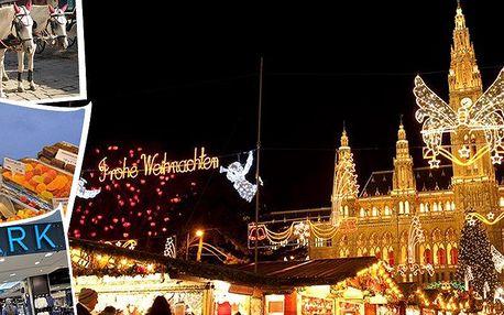 Vyhlášený adventní zájezd do Vídně a super levné nakupování v Primarku.
