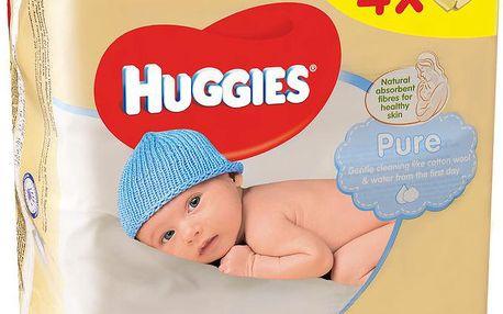 Huggies Pure Quatro Pack (56x4)