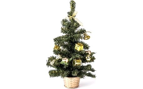 Vánoční stromeček zdobený zlatá YH 0139A-14