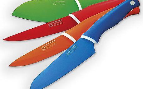 Sada barevných nožů 4 ks Solingen