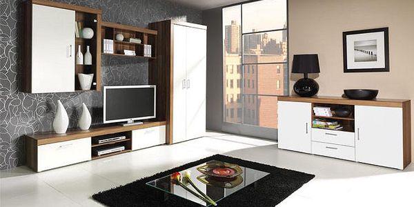 Systémový nábytek SAMBA sestava 9 bílý