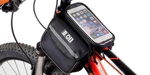 Taška na kolo s pouzdrem na dotykový telefon