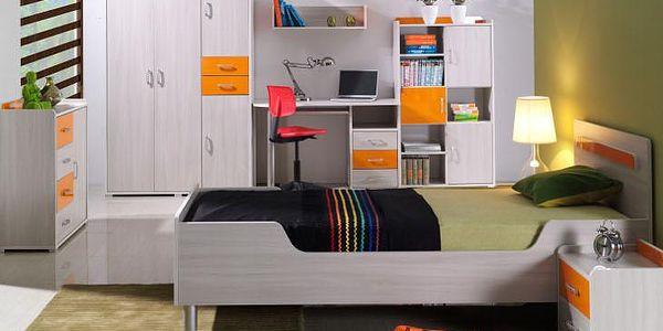 Stylový nábytek do dětského pokoje NEMO 7