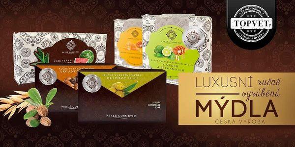 Luxusní přírodní mýdla české výroby