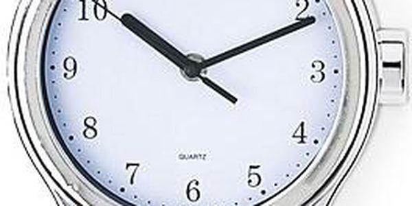 Nástěnné hodiny, tvar hodinek, bílé