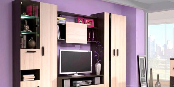 Luxusní obývací stěna ORLANDO 280 jasan