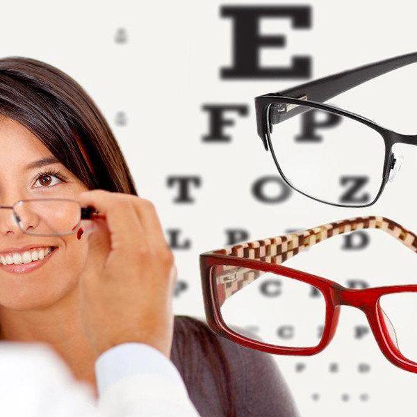 Brýlové obroučky za 1000 Kč v Optice Novotný